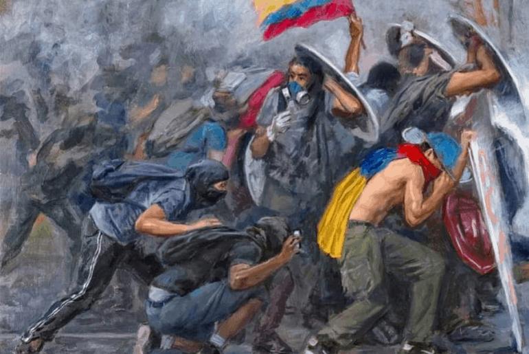 Cuando la violencia y la desigualdad social, económica y cultural se vuelve estructural, basta con una chispa para encender todo un país